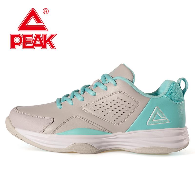 匹克女鞋耐磨防滑网球鞋时尚百搭时尚休闲运动鞋硬地橡胶训练鞋