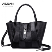 Ai Danni 2015 Ma Maonv new European fashion fur trend for fall/winter leather shoulder bag handbag bag