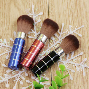 Fan Qian beauty tools blush brush / over powder brush / loose powder brush / foundation brush / rouge brush portable retractable makeup brush