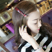 Cool na Korean hair accessories hair clip hair bangs clip original headdress trinkets 6298