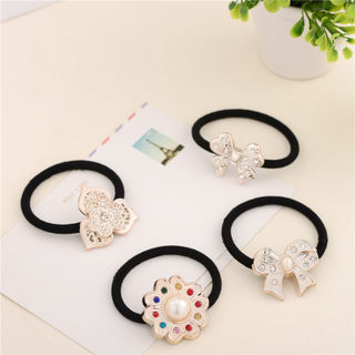 Good jewelry Korea hair accessories Korean version of resin jewelry flower hair band hair band head rope