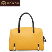 Honggu red Valley counter genuine leather Boston bag Candy-colored bag spring/summer 2015 4780