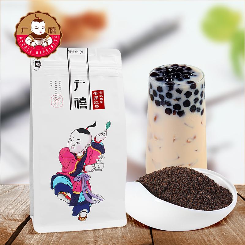 广禧台式CTC红茶500g 珍珠奶茶店专用原料阿萨姆锡兰拼配茶叶颗粒