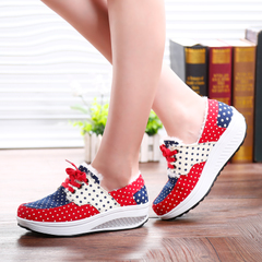 Microphone clicking shook 2015 winter and cotton shoes women is increased with thick-soled platform casual Sneakers Shoes Women's shoes