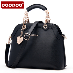 Doodoo fashion handbag hand shoulder shell bag for fall/winter autumn ladies bag 2015 new tide girls
