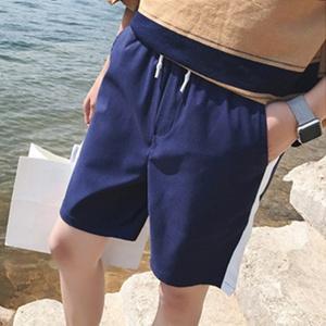 夏季新款短裤男运动五分裤男士休闲直筒宽松薄款沙滩裤透气5分裤