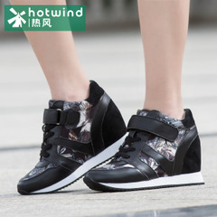 Hot Lady in the Korean version of Velcro shoes high tide increase women's shoes casual shoes women on the streets 61H5741