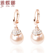 Mail ya-na Korean cute Pearl Earrings earring earring Korea fashion jewelry jj16