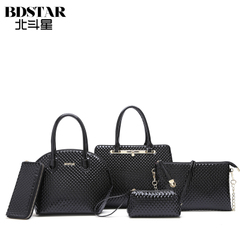 Big Dipper bag 2015 fall/winter new style fashion ladies shoulder slung portable shell flashes da Bao Zi Mu bags