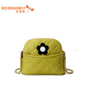 Red Dragonfly new authentic ladies diamond fashion handbags shoulder bags diagonal package package