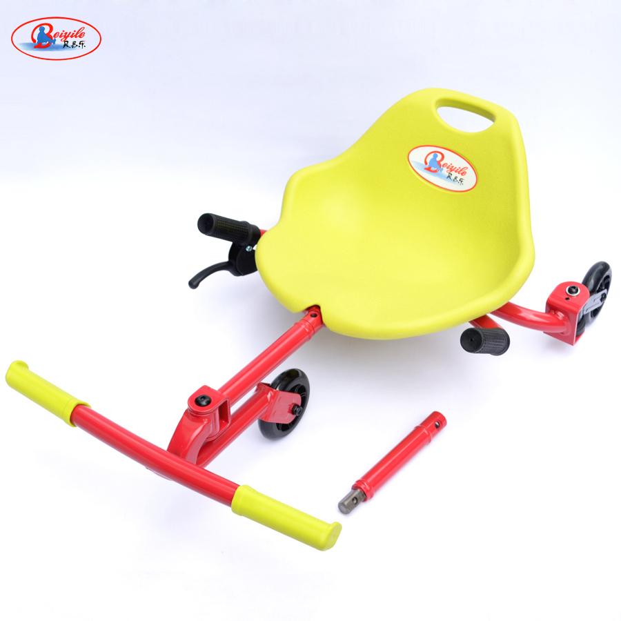 贝易乐扭扭车悠悠车儿童漂移型溜溜车脚踩滑行静音三轮摇摆车滑板