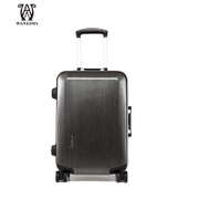 Fall/winter Wanlima/million 2015 luggage 20 inch casters new trolley case suitcase authentic