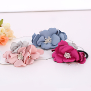 Know Richie flower holiday wind simulation string rope made by Korean Beach hair jewelry