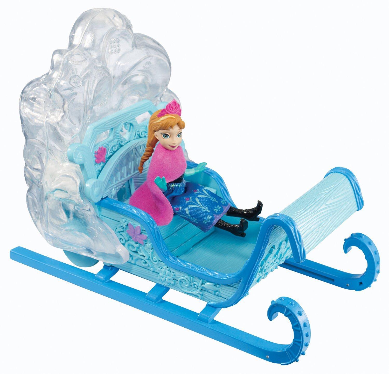 迪士尼冰雪奇缘雪橇安娜公主y9979过家家系列女孩礼物