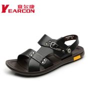 Italian con men's sandals in summer 2015 summer new fashion Korean City boy comfort casual shoes slip