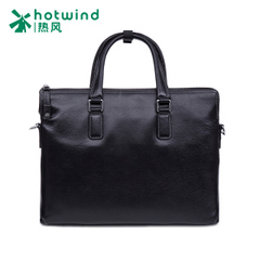 Hot new 2016 the first layer of leather briefcases men's business bag large shoulder bag men B54M6201