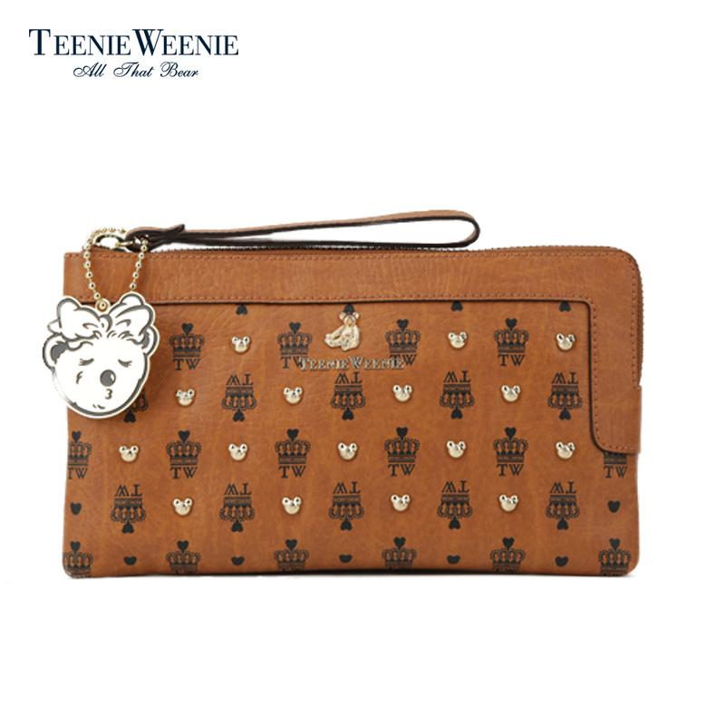 Teenie Weenie小熊专柜正品时尚经典手拿包TPKP54CF1C