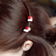 Know Richie catch clip bangs hair child Christmas cute Korea tiara hair accessories Korean clip