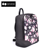 New rivet IIXVIIX2015 fall flower square handbag backpack colour matching backpack SN53210111