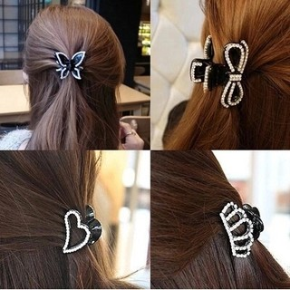 Know Richie new hair accessories Han Shiya kelishui drill butterfly catching drill small scratch ornaments