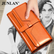 Chun LAN ladies wallet retro leather wallet Korean fashion wallet women's wallet in his hand the bulk