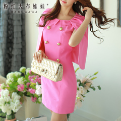Summer dress big pink dolls 2015 new tide ladies fashion dresses, capes women