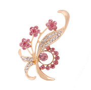 Love Korean female fashion rhinestone brooch pin brooch jewelry Korea pin female temperament