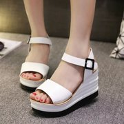 2015 summer styles Luo Mapo heel platform Sandals yuzui shoes platform high heel platform shoes and leisure boom