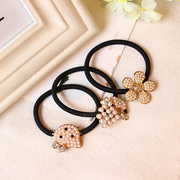 Korea band small pearls Korean jewelry hair jewelry rhinestone Butterfly first rope string capitatum