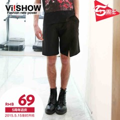 Viishow summer of five youth shorts tide popular men's casual pants
