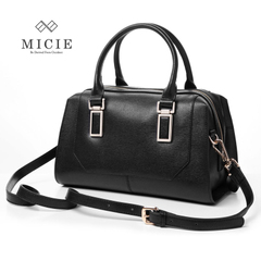 Micie2015 Western leather bags woman bags diagonal pillow Boston bag fashion handbags