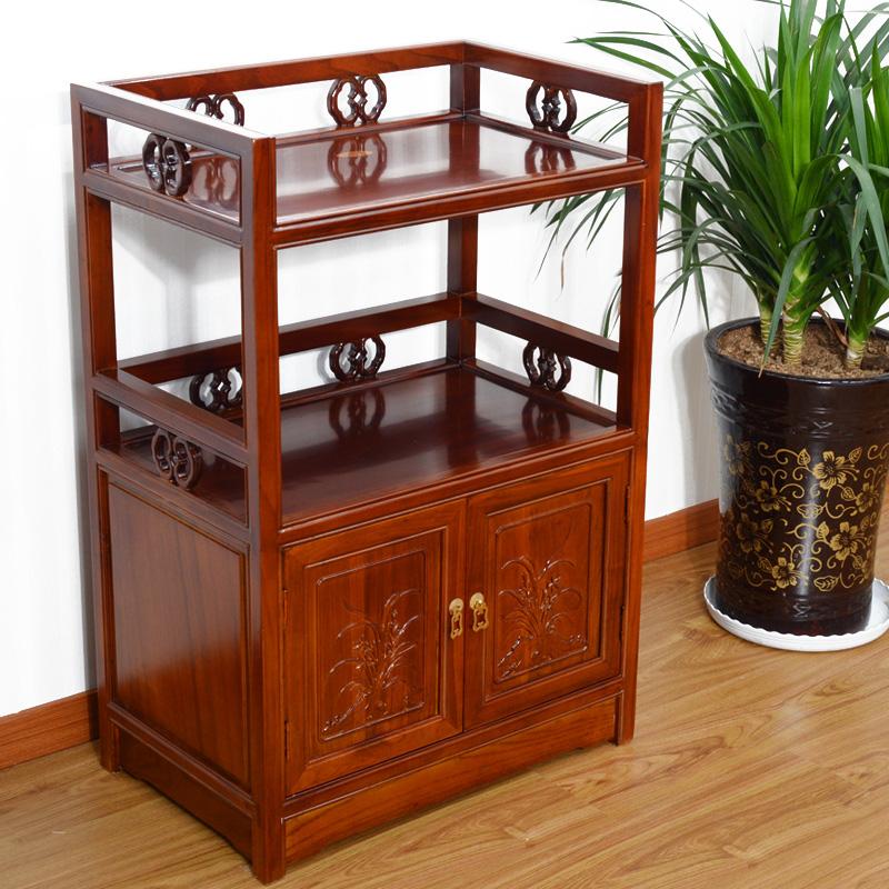 特价茶水柜餐边柜储物柜简约现代中式餐厅厨房微波炉柜菜酒碗柜子