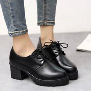 England retro shoes in women with thick with students with non-slip shoes leisure shoes 2015 spring women's tide