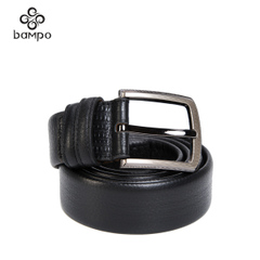 Banpo accessories official store 2015 leather men's belts business casual buckle belt
