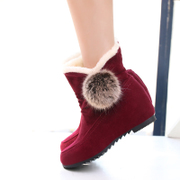 C fall/winter shoes boots UK wind round head short tube with flat student Martin boots, lace boots casual boots