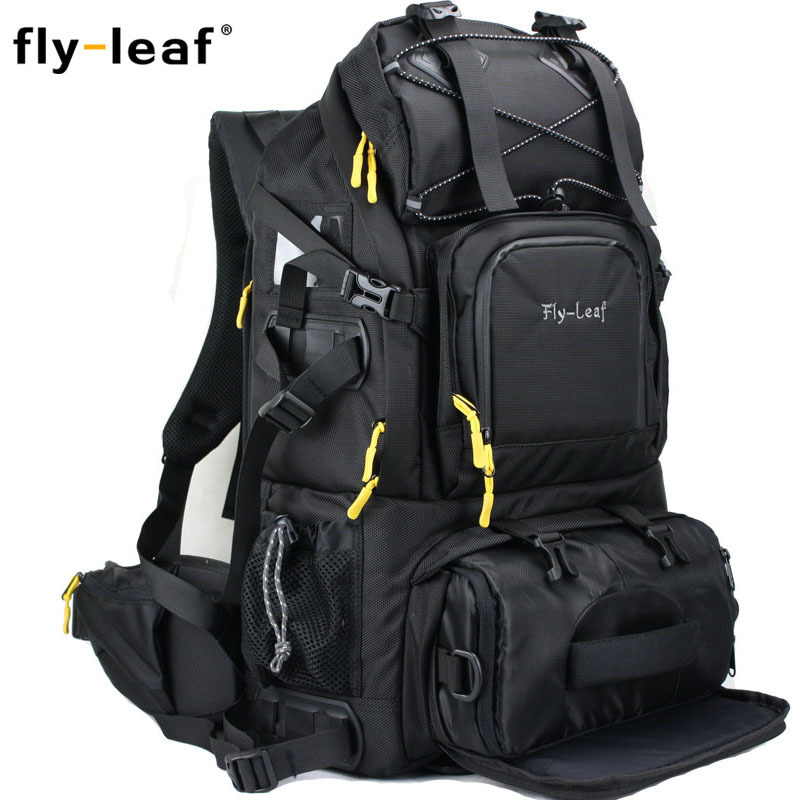 flyleaf303D 双肩摄影包大容量专业单反相机包数码电脑摄像机包