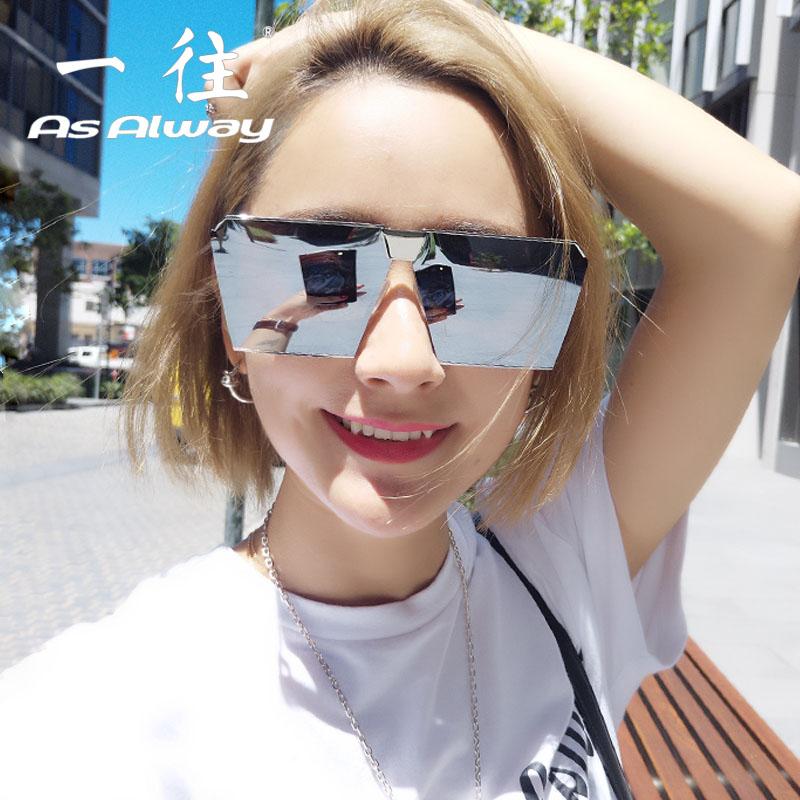 新款偏光太陽鏡女眼睛2017個性方形網紅同款墨鏡男士開車潮人眼鏡