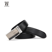 Wan Lima automatic buckle leather belt belts men's leather belts business casual versatile men's belts