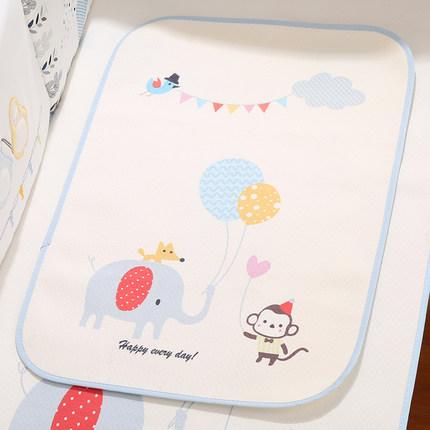 新生儿隔尿垫 婴儿防水可洗床垫 超大纯棉儿童透气宝宝用品月经垫