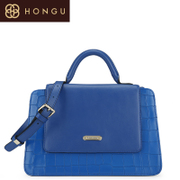Honggu red Valley women for 2016 counters new rhombic mobile diagonal shoulder bag pure leather women bag 6958
