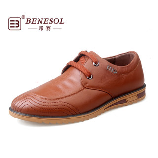 BENESOL/State ISA 2015 new breathable comfortable business casual shoes fashion shoes for fall/winter round head 5032082