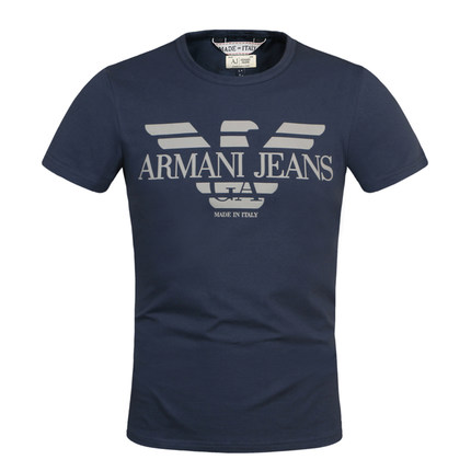 Genuine ARMANI Armani menx26#39;s summer summer Slim round neck short sleeve t-shirt T-shirts
