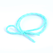Know NI know NI hair accessories Korean Mint green high elastic rubber band color soft fresh red rope