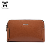 Wanlima/million 2015 new men's bags clutch bag leather for fall/winter trend of Korean men's handbags