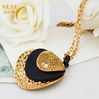 Mu-Mu-female long jewelry necklace exclusive contract Korea Joker accessories ladies fashion necklace for autumn and winter packages-mail