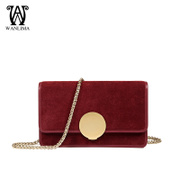 Early spring new Wanlima/around 2016 bag fashion ladies bag slung the chain shoulder bag