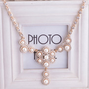 Mail original elegant European fashion jewelry Korean necklaces short a wild sweet Princess