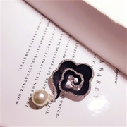 Good day for Korean version of faux Pearl brooch jewelry rose corsage Korea jewelry flower jumper pin female