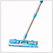 夹固式平板拖把木地板擦省力家用ag12奇拖帕ri夹布尘推平托