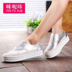 Microphone clicking fall 2015 new Le Fu, thick-soled shoes women fashion casual lazy sets foot shoes shoes shoes